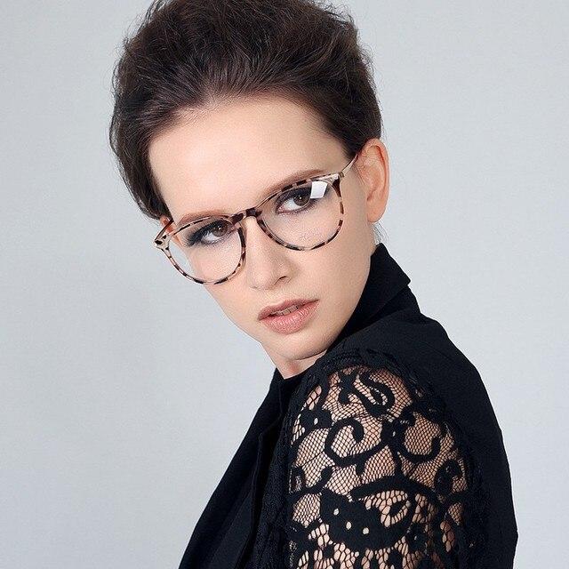 Classic Brand Design Women Optical Frame Round Glasses Frame for Myopia Eyewear
