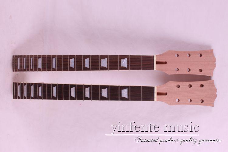 2 pcs Nouveau haute qualité Unfinished manche de la guitare électrique