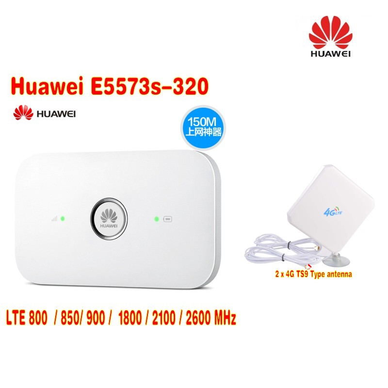 Unlocked Huawei e5573 4G Wifi Router With 1500mah batterHuawei E5573 3G 4G Mobile Wifi Pro+2X 4g TS9 LTE antenna MIMO tp link tl wdr8400 wifi router dual band 7 antenna 2 4g 5ghz 2200mpbs super fast wireless router mu mimo pa lna ac2200