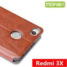 3x дело MOFi оригинальный Редми Xiaomi Редми 3 x pro телефон дела силиконовая кожа флип xiomi 32 ГБ 5.0 «задняя крышка xioami xiami принципиально