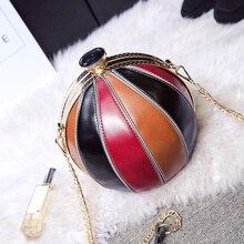 Personalisierte tasche frauen handtasche kleine frische mode runde ball tasche eine schulter kreuzkörper frauen beliebte stil