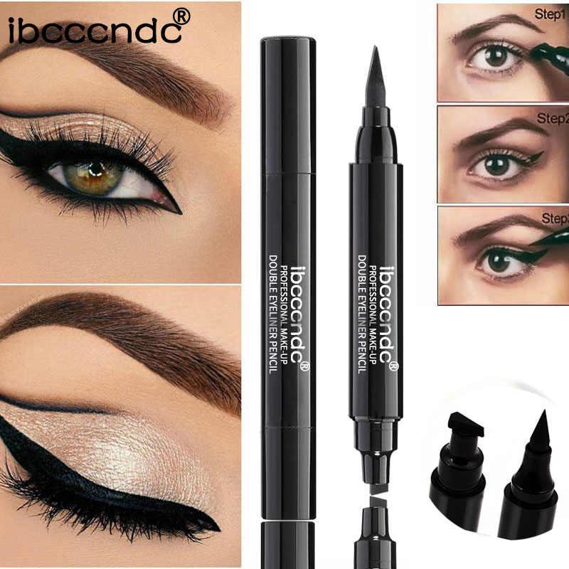 1 pedaço Líquido Preto Eyeliner Pen com Selo Selo Gato de Secagem rápida À Prova D' Água de Longa Duração Eye Liner Pencil Maquiagem Cosméticos ferramenta