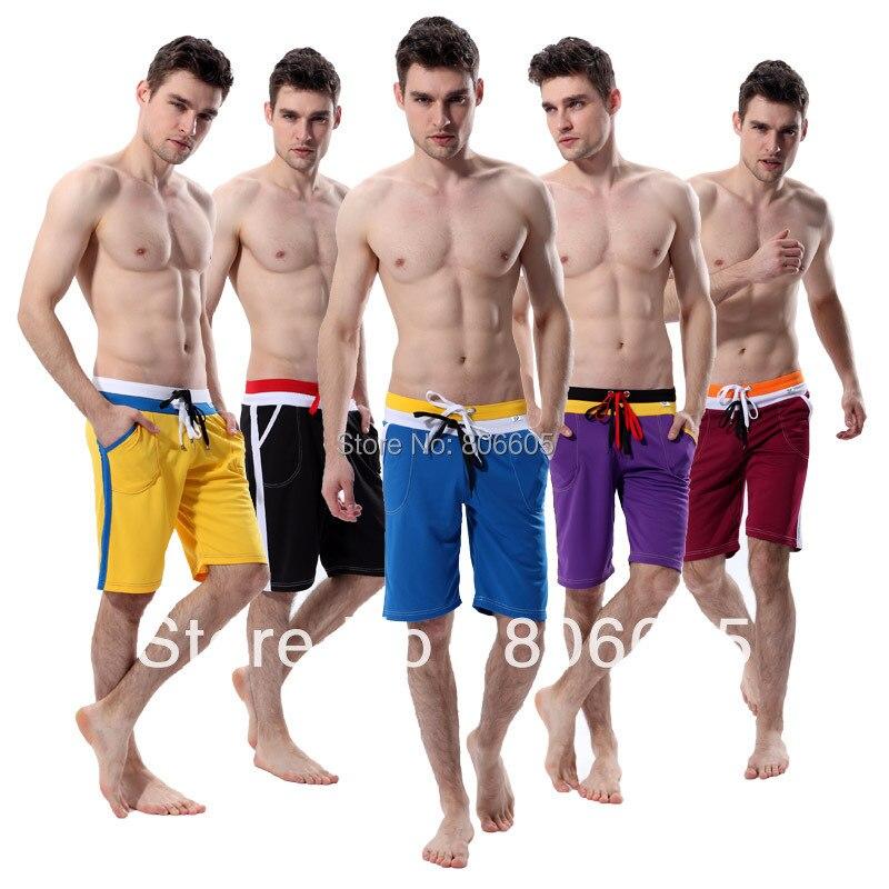 Hot Men\'s Trainer Medium Long Shorts Trunks Sports...