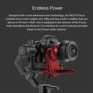 Image 3 - MOZA iFocus Wireless Follow Focus Motor for Moza Air 2, Air, or AirCross DSLR Gimbal Stabilizer Follow Focus Accessories instock