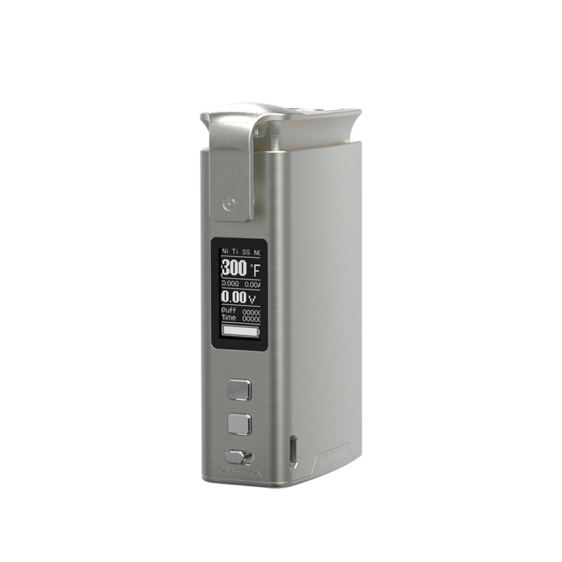 Sikary Mirage 100 W Vape boîte Mod 510 fil 3000 mAh batterie intégrée en métal TC Cigarette électronique Mod Vape pour RDA RTA Vaper