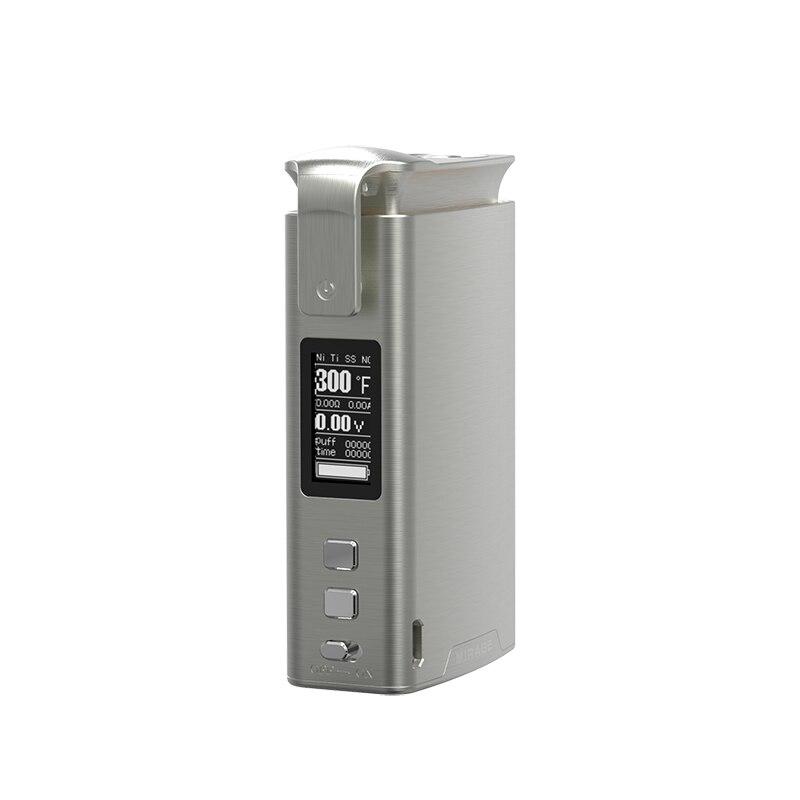 Sikary Mirage 100 w Vaporisateur Boîte Mod 510 Fil 3000 mah Batterie Intégrée Métal TC Electronic Cigarette Mod Vaporisateur pour RDA RTA Vaper