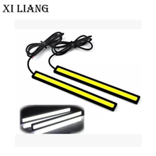 17cm  COB 3W 28 led chip Daytime running light DC 12V 100% Waterproof Super Bright Auto Car DRL Bar Driving lamp