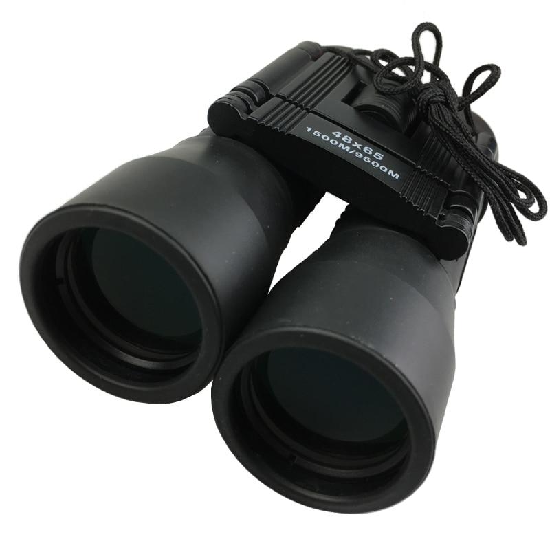 Открытый Охота Водонепроницаемый Портативный бинокль телескоп 48x65 HD оптический синий Плёнки длинные диапазон зумирования Охота бинокль те...