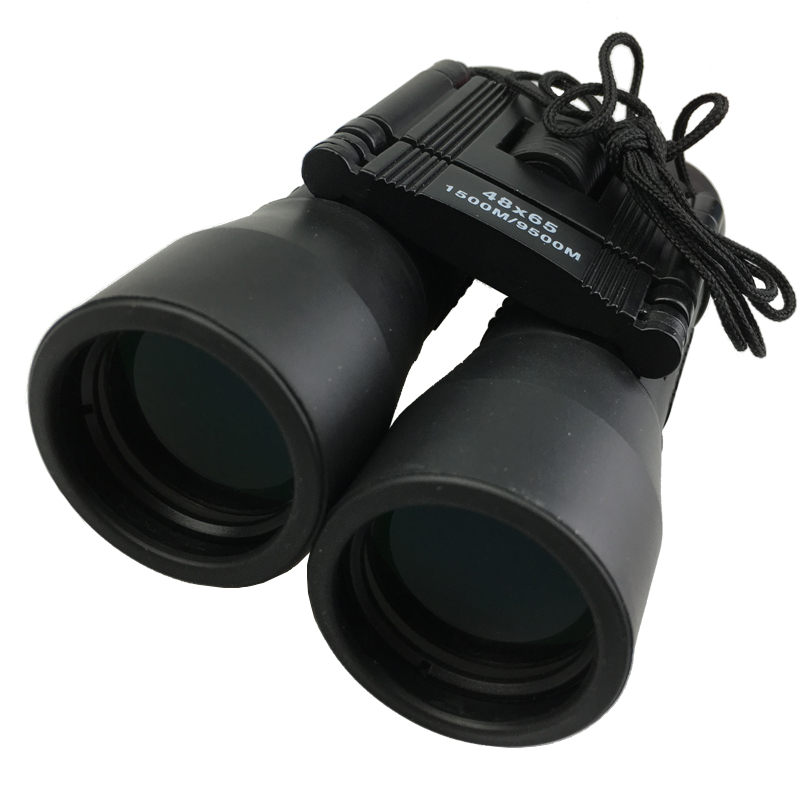 Outdoor Hunting Waterproof Portable Binoculars Telescope 48x65 HD Optical Blue Film Long Range Zoom Hunting Binoculars Telescope high power portable binoculars telescope hunting telescope metal body waterproof ingress protection 4