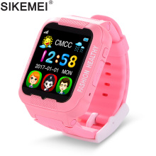 SIKEMEI Kids Smart Watch Baby Safe Watch with GPS Location Finder Tracker Camera Anti-lost SOS Call Waterproof for Android iOS jqaiq hot baby smart watch children kids security safety gps location finder tracker waterproof phone call sos for ios androd