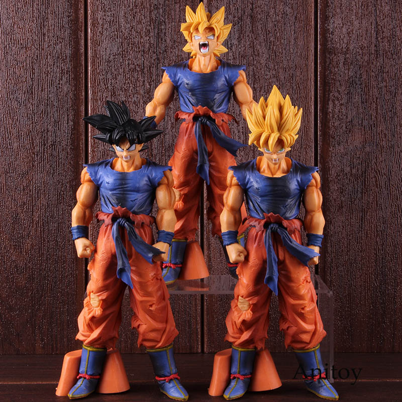 Radient Dragon Ball Z Super Saiyan 4 Goku Vegeta Gogeta Pvc Action Figure Dragonball Dbz Model Toys Dolls 20cm Durable Modeling Toys & Hobbies
