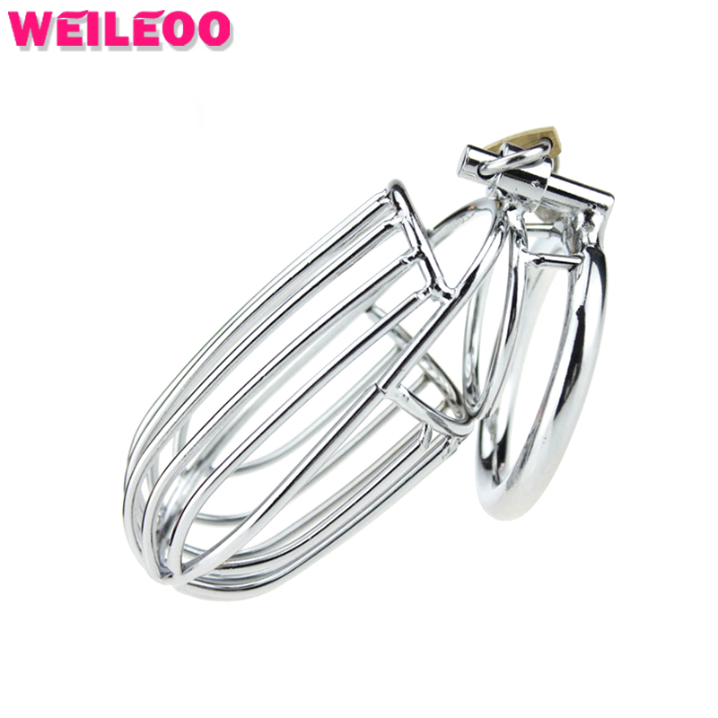 metal male chastity belt male chastity device chastity cage cock cage penis cage adult font b
