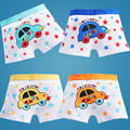 4 PÇS/LOTE Mix Cor Meninos Boxers Roupa Interior Cuecas para Os Meninos Crianças Cuecas Crianças Calcinhas Novas Cuecas Boxer Shorts das Crianças boxeador