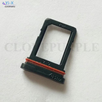 10PCS/Lot New SIM Card Tray Slot Holder with Waterproof Rubber For Samsung Galaxy S6 Active G890A G890 Repair Parts