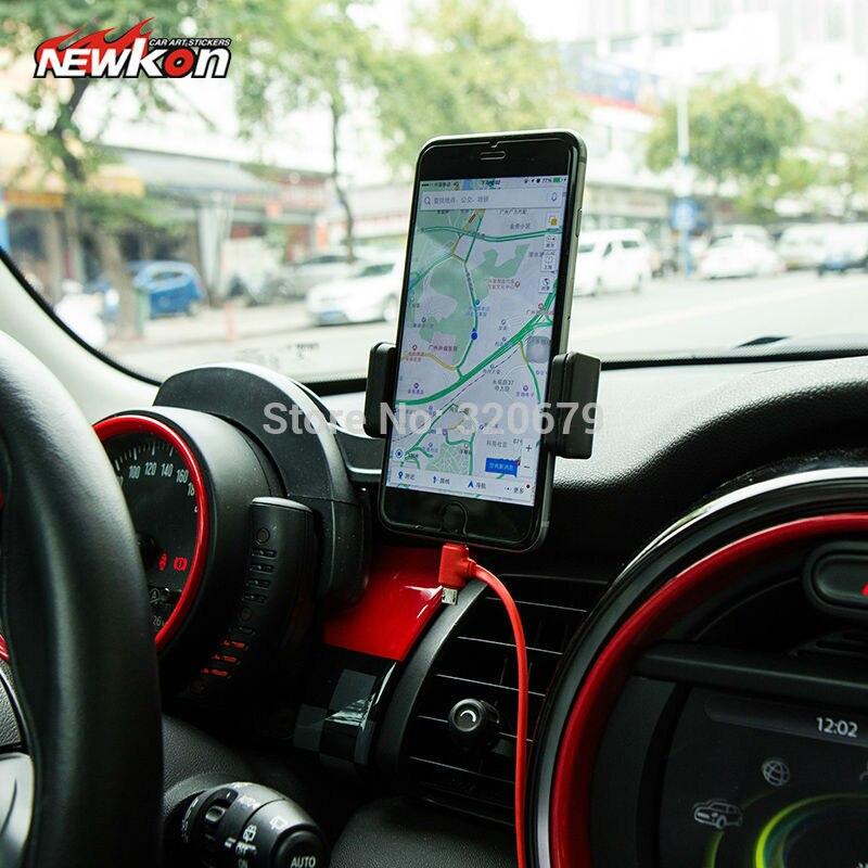 Auto auto handy halter auto Handy Tablet montieren klicken für Mini cooper R55 R56 R57 F56 F54