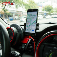car auto phone holder car Mobile Phone Tablet mount click for Mini cooper R55 R56 R57 F56 F54
