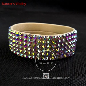 Image 5 - Стразы для танца живота Браслет для девочек Аксессуары для танца живота Кольцо для ног / Браслет