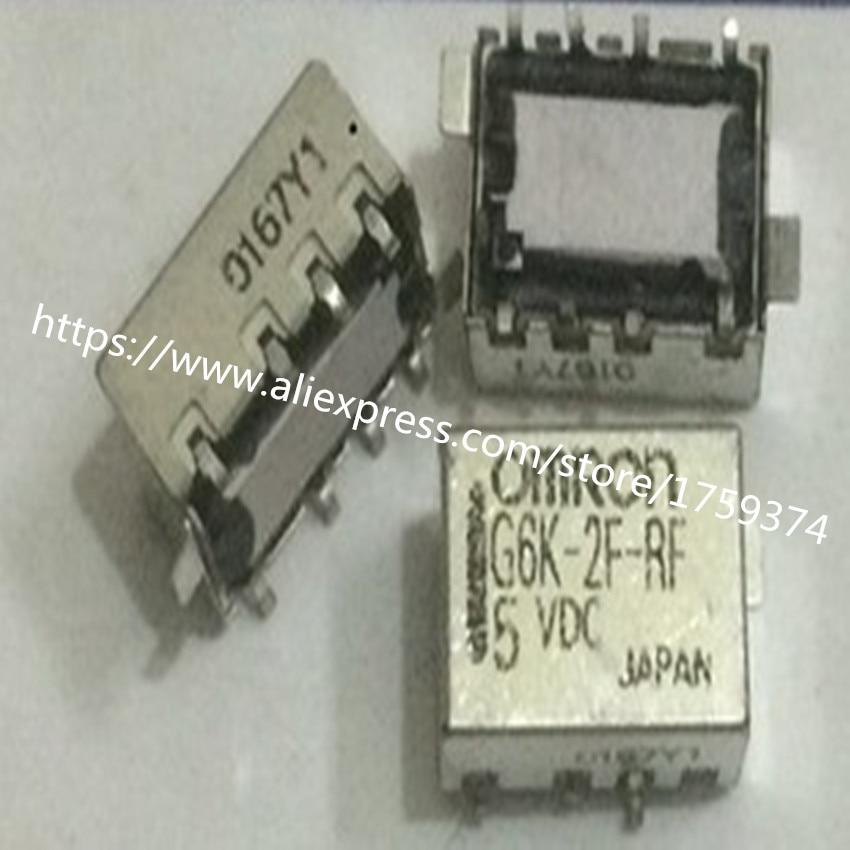 wholesale  10pcs/lot  G6K-2F-RF-5VDC   1A  8feet  relay  цены