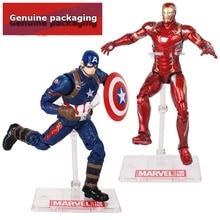 18cm Marvel Avenger Action Figure Movie Anime Super Hero Iron man Captain America Hulk Thanos Spider
