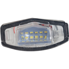 1 Pair Car LED Number License Plate Light Lamp Car Styling White Highlight Rear Lamp for Honda Civic City Legend Accord Acura 2x led license plate light 18 leds number plate lamp for honda civic accord odyssey pilot acura tl tsx mdx white light