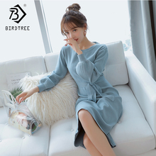 2018 Autumn New Arrival Women's Dresses Casual Style Solid F