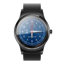 Original SMA-R Pulsmesser Smart Uhr Android Dual Bluetooth Armband SmartWatch IP54 wasserdichte Fernbedienung Kamera Runde