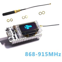 868MHz 915MHz SX1276 ESP32 LoRa 0 96 Inch Blue OLED Display Bluetooth WIFI ESP32 ESP 32