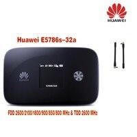 300 м Быстрый 4 г модем LTE Wi Fi Беспроводной маршрутизатор Huawei e5786 300 Мбит/с 4 г LTE маршрутизатор cat6 Wi Fi маршрутизатор плюс 2 шт. антенны