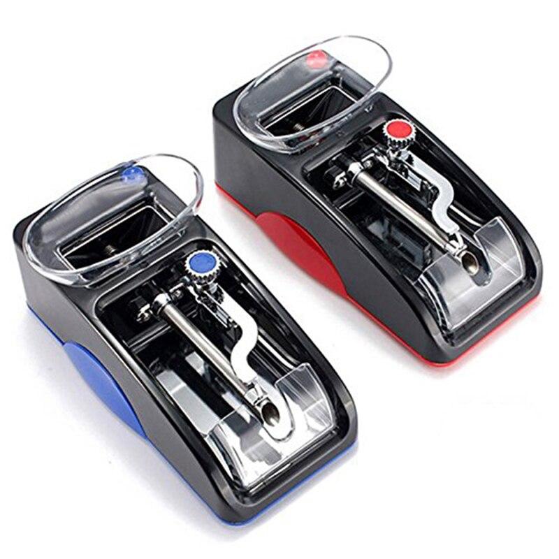 1 pz Elettrico Facile Da Macchina di Laminazione Sigaretta di Tabacco Iniettore Automatico Maker Roller Trasporto di Goccia