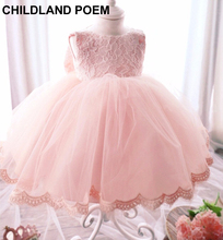 newborn baby girl dresses baptism 1 year birthday baby girl dress princess party cotton lace baby girl clothes christening dress