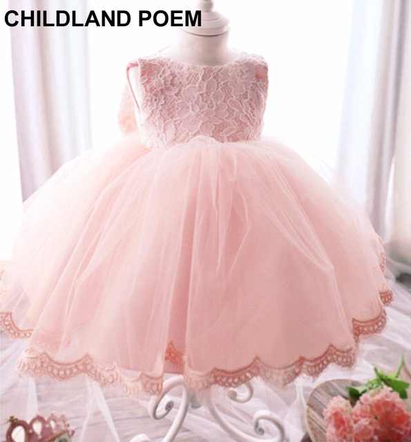 f4be41e246d newborn baby girl dresses baptism 1 year birthday baby girl dress princess  party cotton lace baby