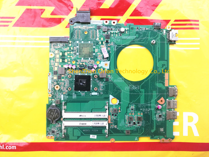 ФОТО 762526-501 For 15 15Z Series motherboard 762526-001 UMA A8-6410 15-F DAY22AMB6E0