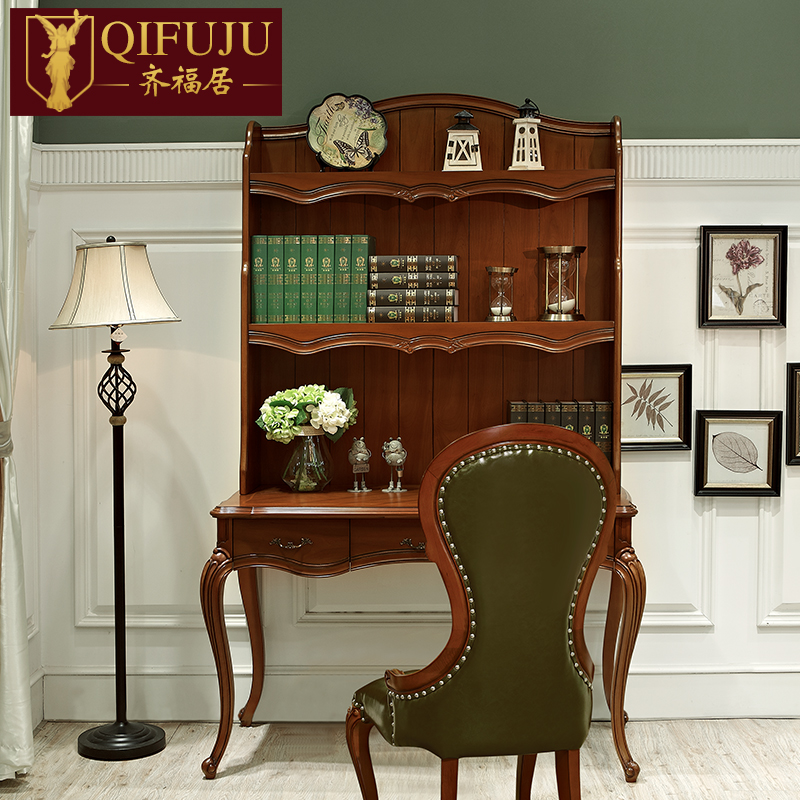 American Country Furniture, Antique Solid Wood Study