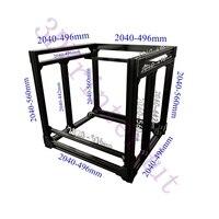 Бесплатная DHL перевозка груза, BLV mgn куб 3D принтеры алюминиевый профиль для экструзии полный комплект w/винт с мелкой резьбой угловой кронште