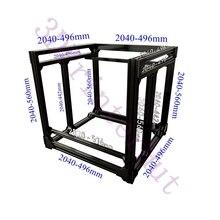 การจัดส่งDHLฟรีBLV Mgn Cube 3Dเครื่องพิมพ์อลูมิเนียมExtrusion Frame Full Kit W/สกรูมุมF/ CR10 365mm Zความสูง