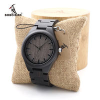 BOBO VOGEL Antique Einzigartiges Design Männer uhren Holz Quarz-armbanduhr mit Voller Holz Band in Geschenkbox uhren hombre benutzerdefinierte logo