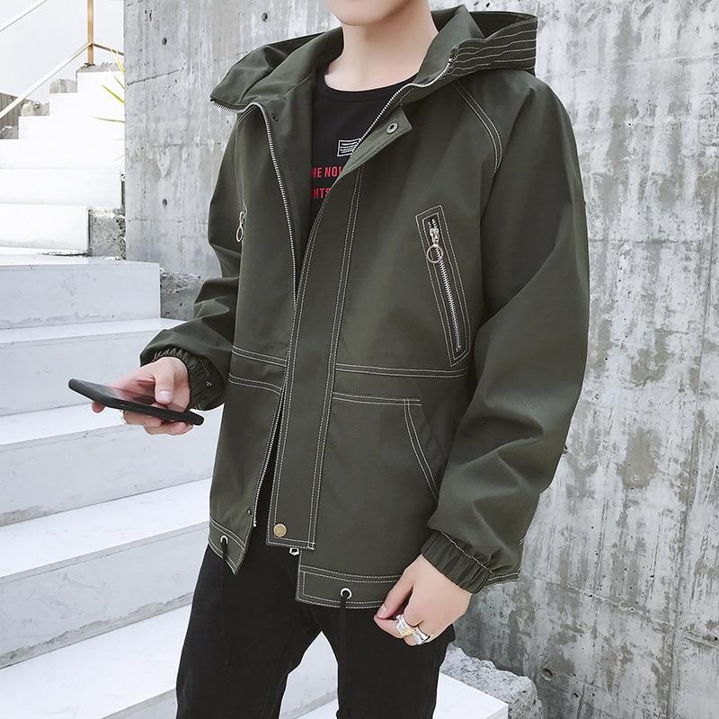 2019 veste hommes décontracté hommes veste Streetwear Bomber veste hommes vestes chaud homme Cool manteaux homme hiver Streetwear