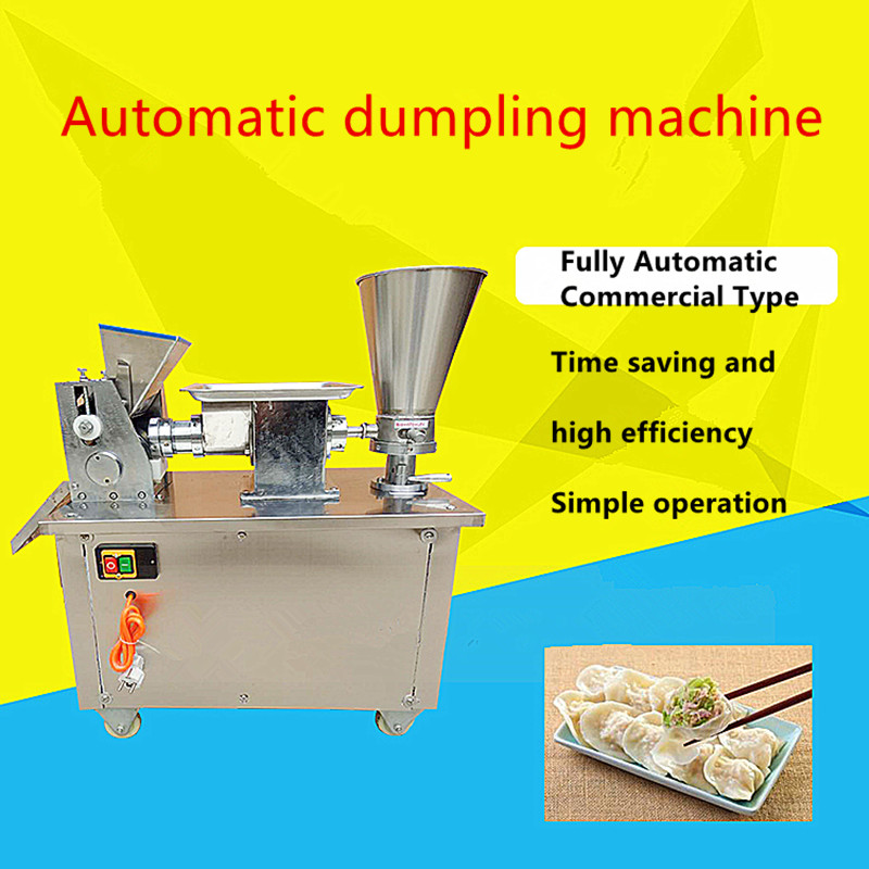 Fully automatic new commercial multi functional stainless steel dumpling machine Small electric household dumpling maker jiaozi Manual Noodle Makers     - title=