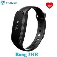 Teamyo оригинальный Бонг 3 HR Смарт сердечного ритма Мониторы трекер сна оксиметрии браслет Спорт SmartBand IP67 для IOS Android