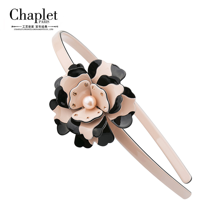 Hot Sale 2016 High Quality Elegant Pearl Hair Bands Accessories Headbands Girls HairBands Flowers Hair Jewelry