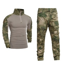 Men Military Clothes Tactical Suit Army Tactical Uniform Airsoft Painball Tactical Clothes Combat Hunting Shirt and Pants недорого