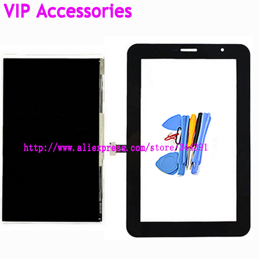 Original P3100 LCD Display Touch Screen For Samsung Galaxy Tab 2 7 P3100 LCD Screen tools