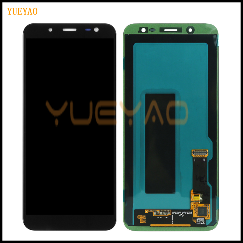 100% Original 5.6 Super AMOLED LCD For Samsung Galaxy J6 2018 J600F J600 Display With Touch Screen Assembly Replacement Parts100% Original 5.6 Super AMOLED LCD For Samsung Galaxy J6 2018 J600F J600 Display With Touch Screen Assembly Replacement Parts