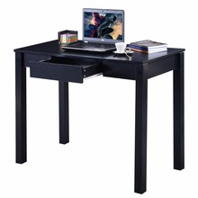 Goplus Modern Computer Table with Drawer School Students Study Learning Desk Office Laptop Table Wooden Home Furnitures HW51325(China)