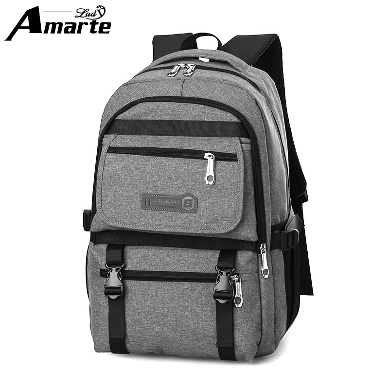 ФОТО 2016 Men Backpack 14 to 17 Inch Laptop Backpack New Designer Brand Backpack Men Women Light Slim Minimalist Fashion Women Bags
