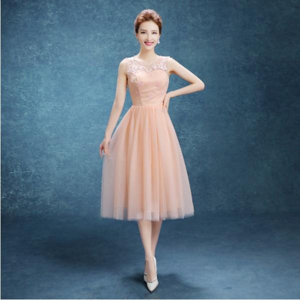 Popular Peach Cocktail Dress-Buy Cheap Peach Cocktail Dress lots ...