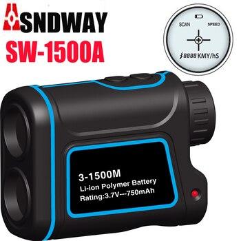 1000 m 1500 m Golf laser range finder telemetro caccia telemetro all