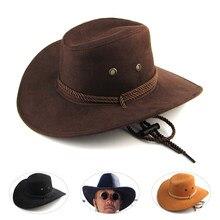 Nueva llegada hombres mujeres 3 color gran ala del sombrero de vaquero para  hombre sombreros al aire libre sombrero sunbonnet mo. ded9bef362a