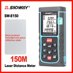 SNDWAY Digital Laser Distance Meter Rangefinder Range Finder SW-120 SW-150 120m 150m Tape Trena Ruler Tester Hand Tool Home