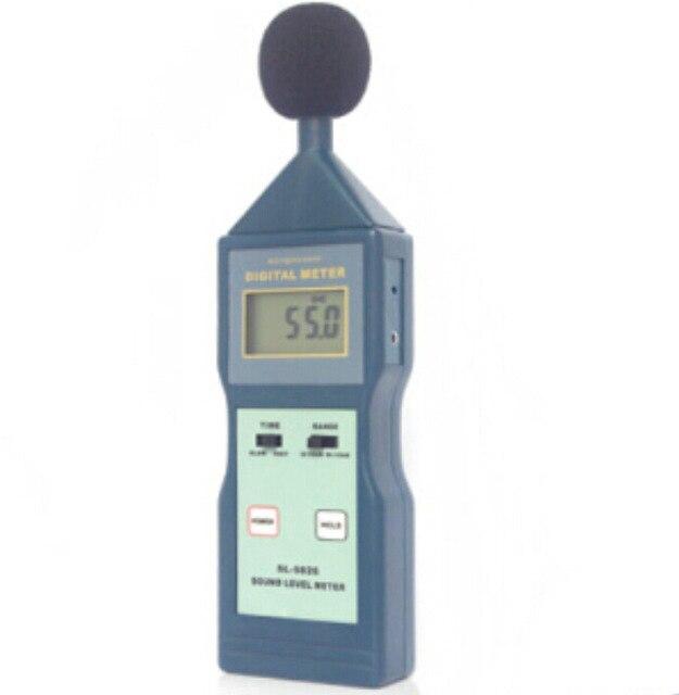 Digital LCD Sound Level Meter SL-5826 Noise Meter Decibel Monitor Tester SL5826 цены